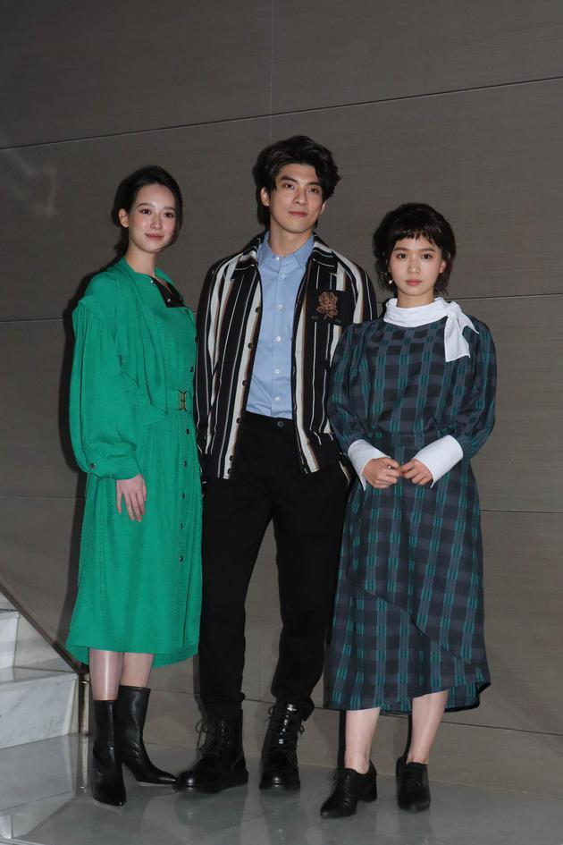 孟耿如(左起)、林哲熹、严正岚