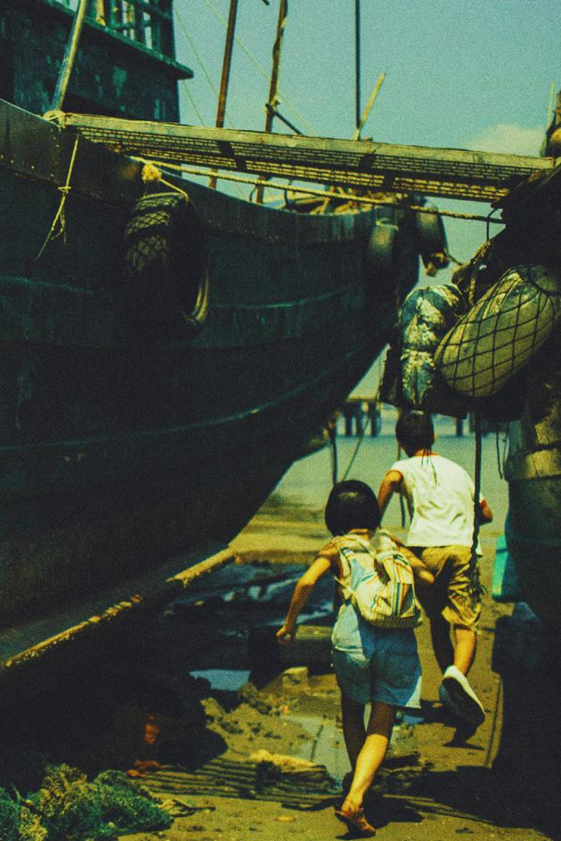 《湮没的角落》海边取景。