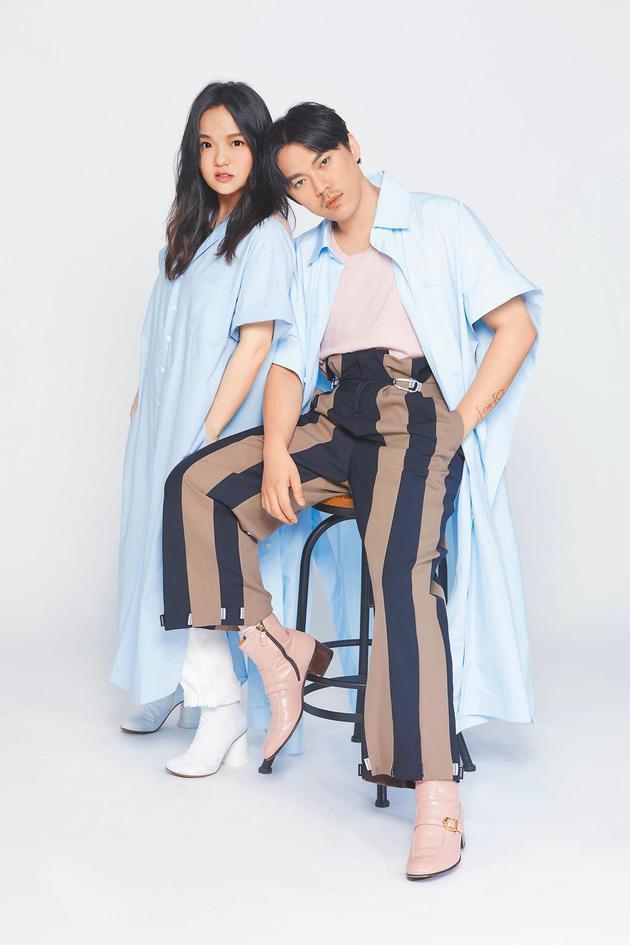 徐佳莹(左)与HUSH合作推出新歌《进化》。