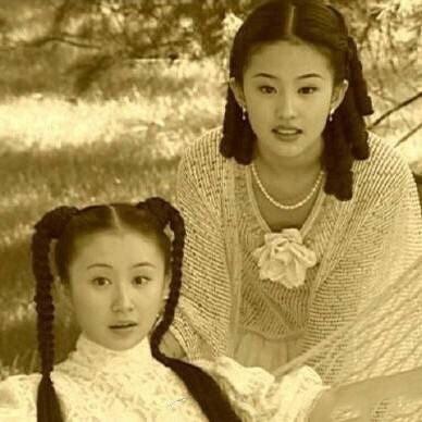 劉亦菲與舒暢因出演《金粉世家》結緣