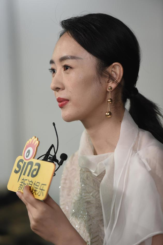 金鹰视后童瑶:获奖很惊喜 更期待《大江大河2》
