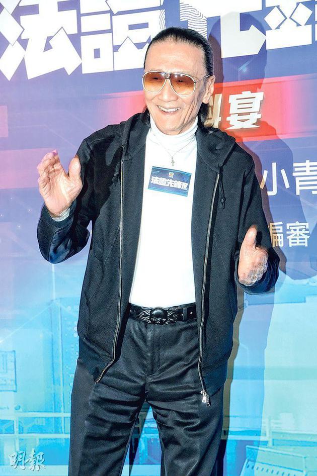"""82岁谢贤获香港电影金像奖""""终身成就奖"""""""