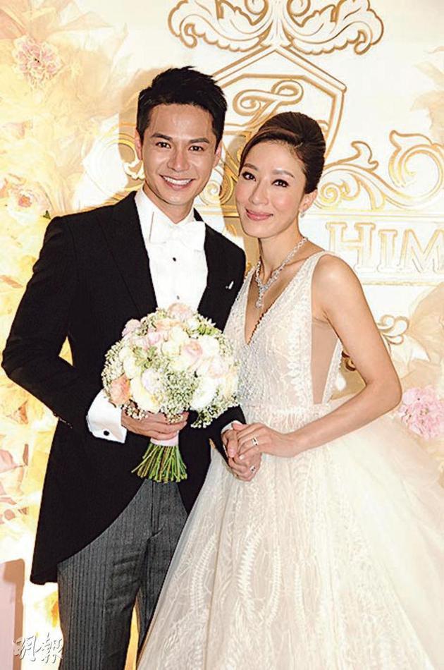 罗仲谦(左)与杨怡结婚3年,但暂时还没有好消息公布。