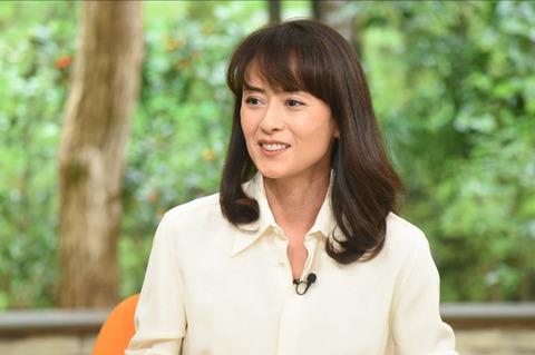 时隔23年复出的女星后藤久美子做客《佐和子的早晨》节目