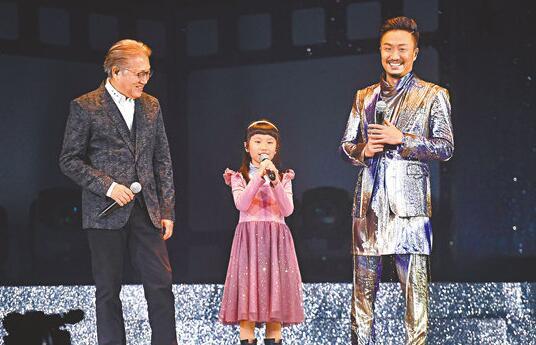 鄭中基表示因為女兒他才用心,出來唱歌。