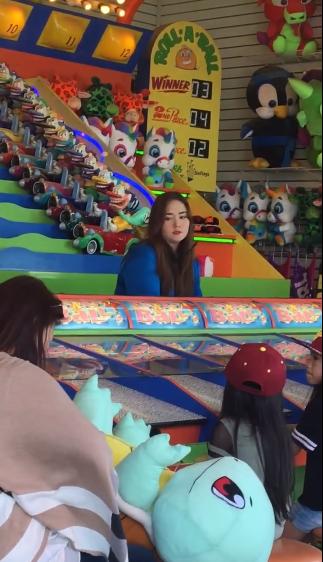 韩女星Kyla游乐场当售票员 曾被封史上最胖女团成员