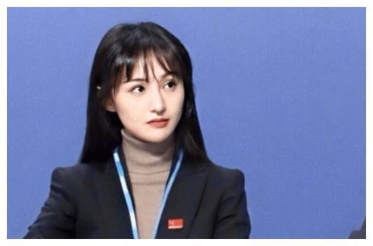郑爽联合国发言图