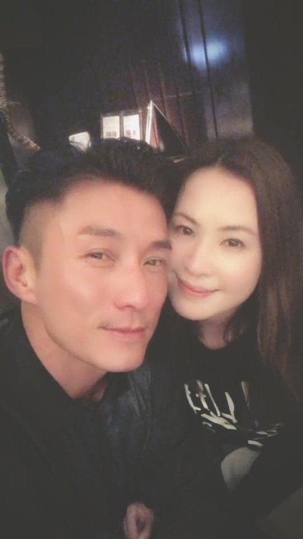 陈山聪与女友Apple