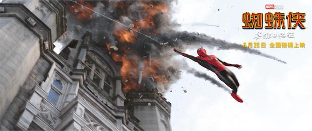 蜘蛛侠战场飞跃