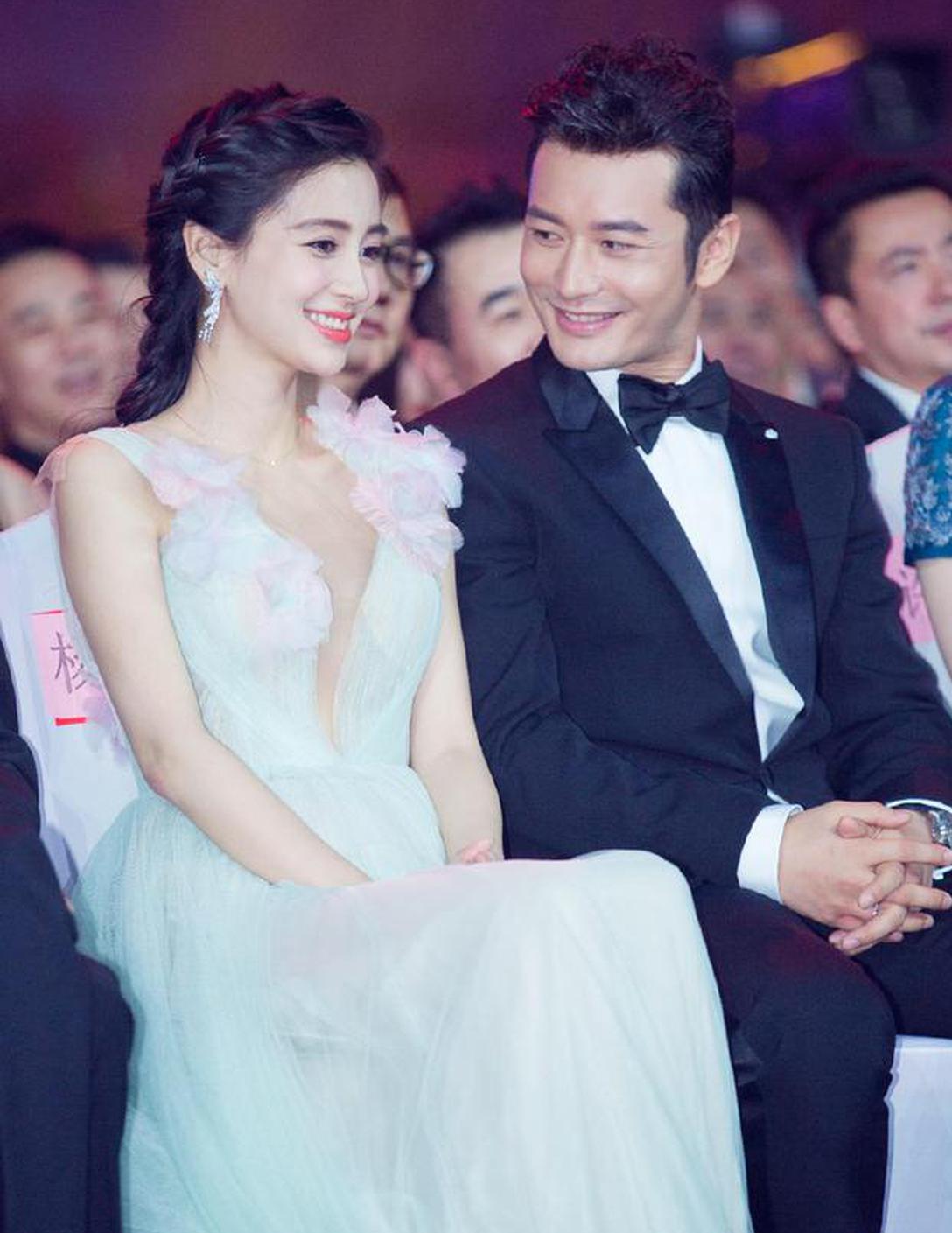 Angelababy与黄晓明于2015年领证结婚