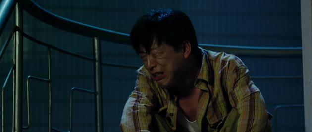 黄渤在《亲爱的》中的哭戏
