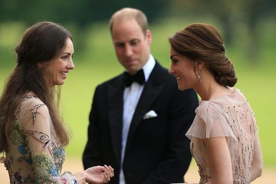 凯特王妃和闺蜜罗斯汉伯里