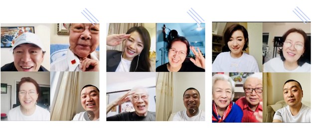 中国视协演工委端午节慰问老艺术家