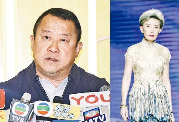 """曾志伟(左图)已正式控告在内地有""""金牌模特儿教母""""之称的韩颖华(右图)诽谤及要求对方赔偿。"""
