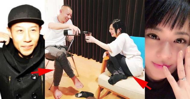 苍井空今天凌晨(1月2日)在网志上载了跟丈夫DJ NON的合照。