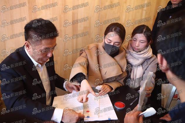 马苏前往法院起诉黄毅清