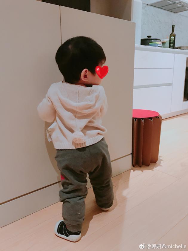 陈妍希的儿子小星星