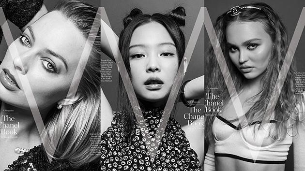 Chanel与《V》杂志联手打造艺术书籍 iphone拍摄部分封面