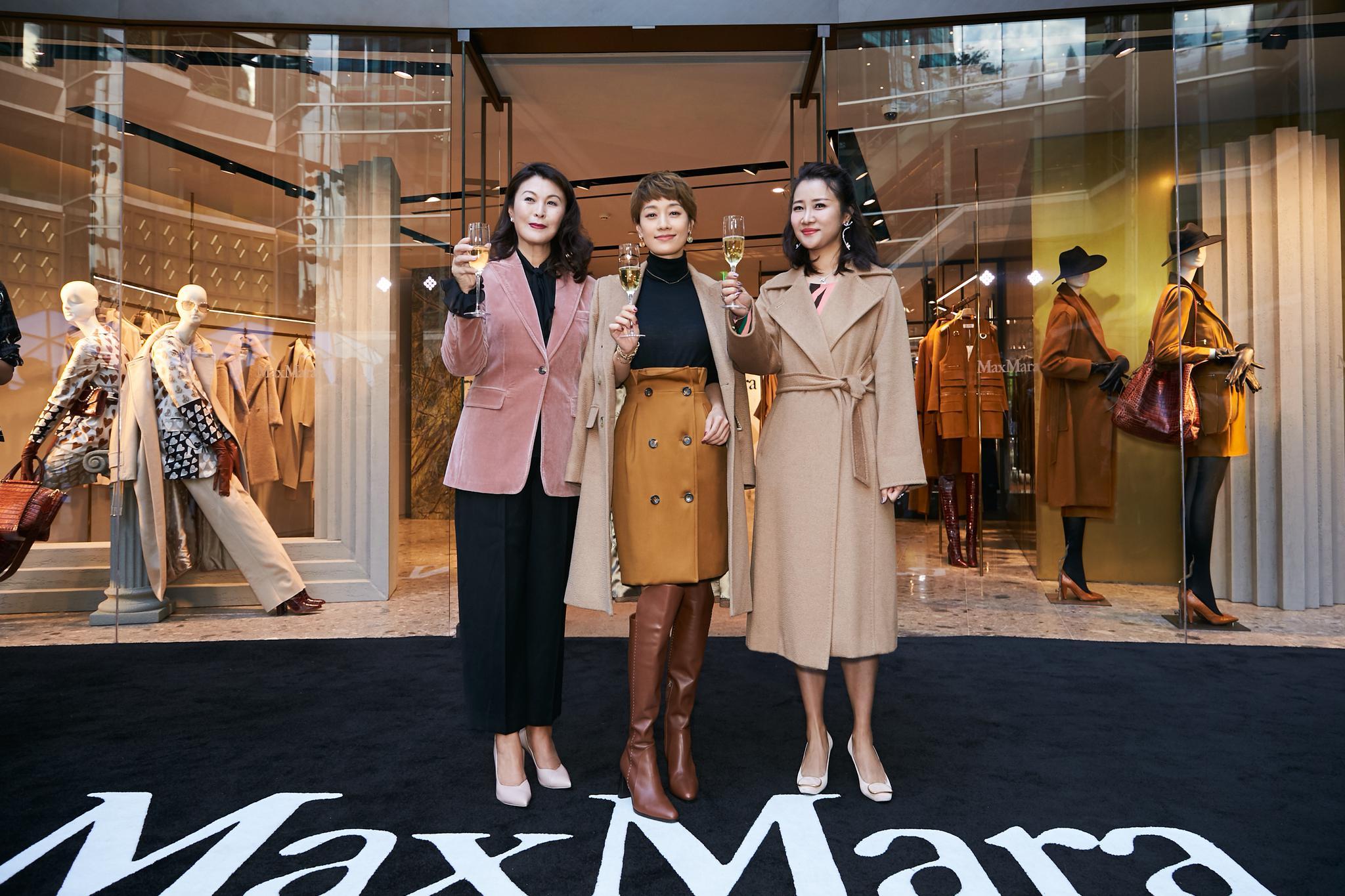 Max Mara上海K11旗�店重�b�_幕