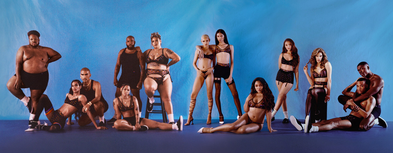 Rihanna内衣品牌Savage X Fenty推出首个PRIDE系列 产品包括运动背带等