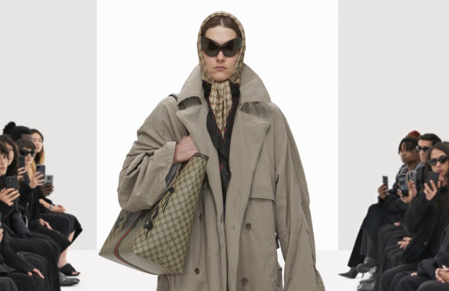 Gucci与Balenciaga合作计划推出新品 会让两个品牌粉丝都感到惊讶和高兴