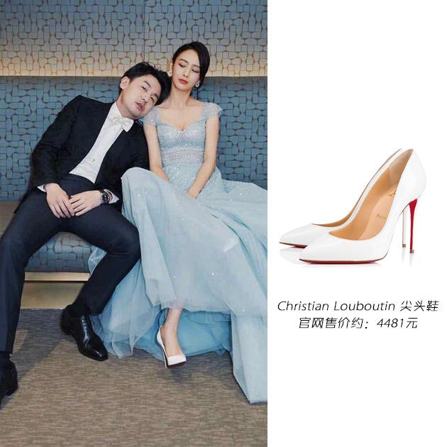 佟麗婭的高跟鞋