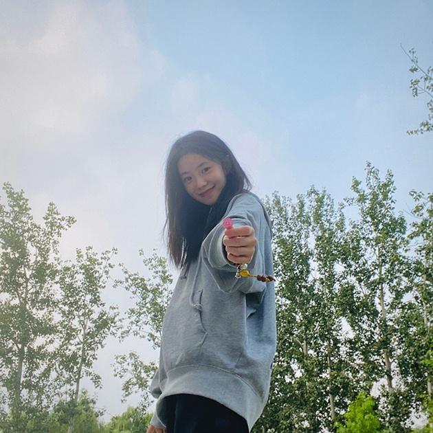 刘浩存微博照
