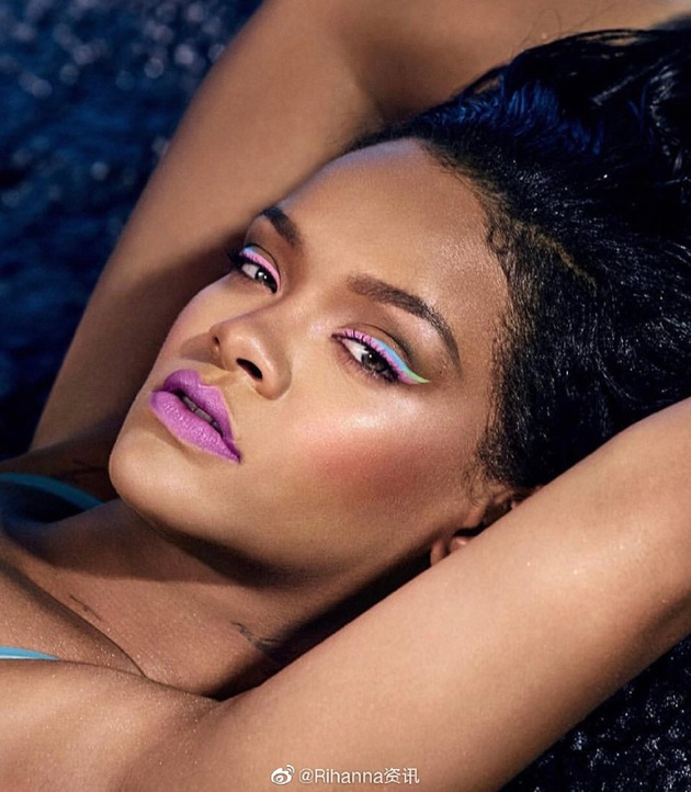 Rihanna Fenty beauty 彩妆大片