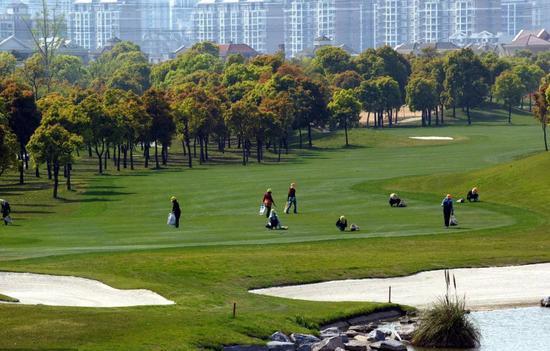 汤臣高尔夫球场