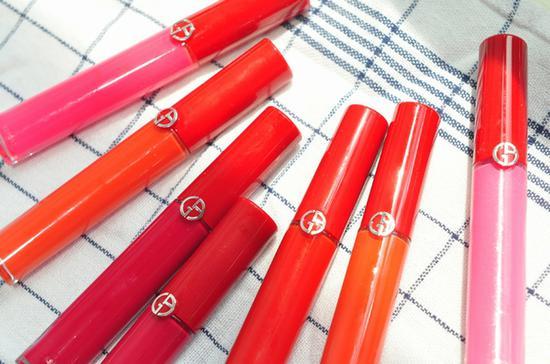 阿玛尼红管唇釉 图片源自品牌