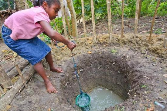 计划惠及地区如今的用水状况
