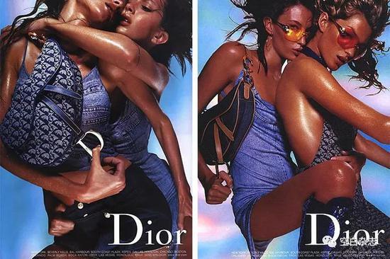 Dior 2000 春夏系列广告形象大片 | 照:Nick Knight