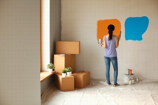 墙面上的创意涂鸦 图片源自www.thezoereport.com