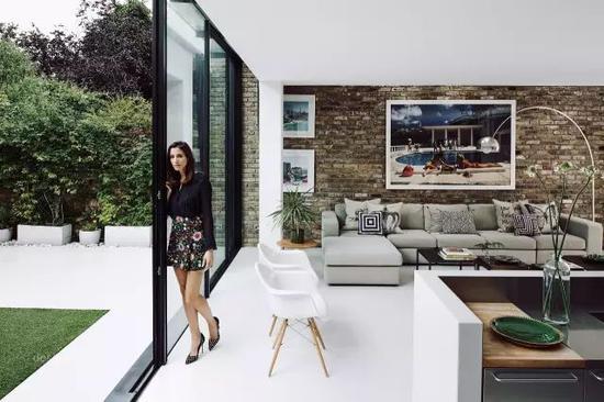 超有设计感的落地窗 让家居空间变得开阔起来
