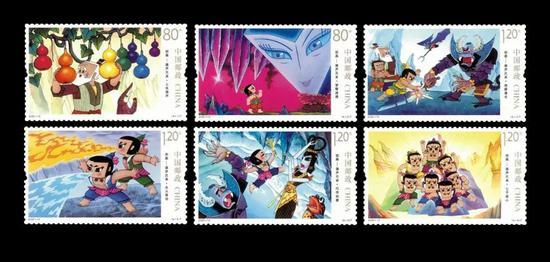 12枚無齒郵票帶你1秒回到童年