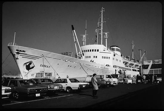 ▸1965年,从横滨港第一次坐船到欧洲
