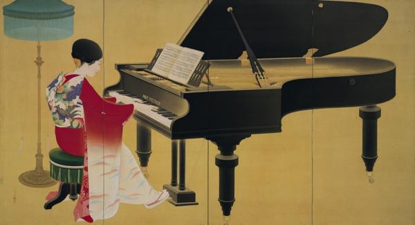 《钢琴》,中村大三郎,1926年,京都市京瓷美术馆藏