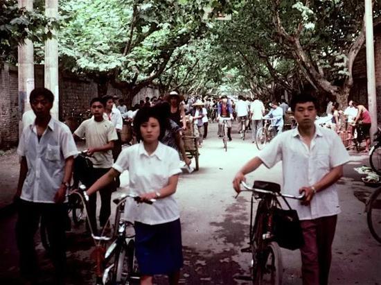 �1981年之成都路口