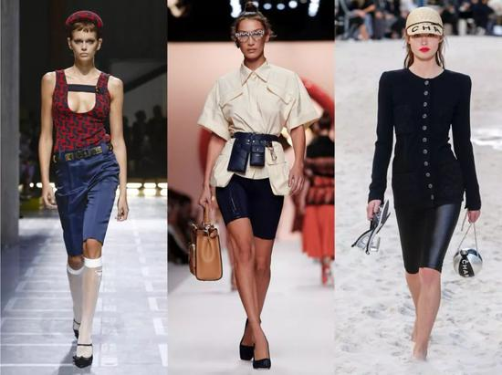 Prada/Fendi/Chanel 2019 S/S