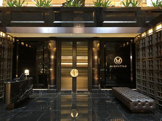 """""""亚洲50佳酒吧""""中获得第一名的Manhattan酒吧,看外观还有点神秘"""