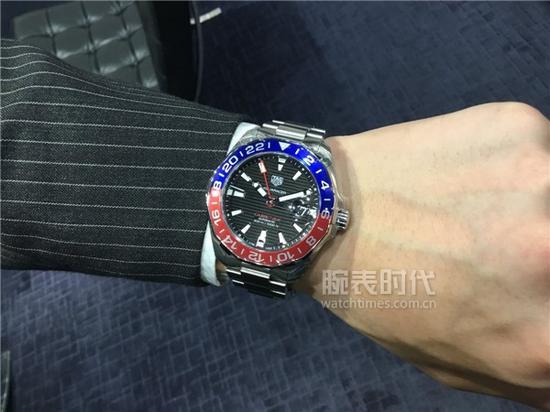 泰格豪雅竞潜系列WAY201F.BA0927腕表,售价19,350初次人民币