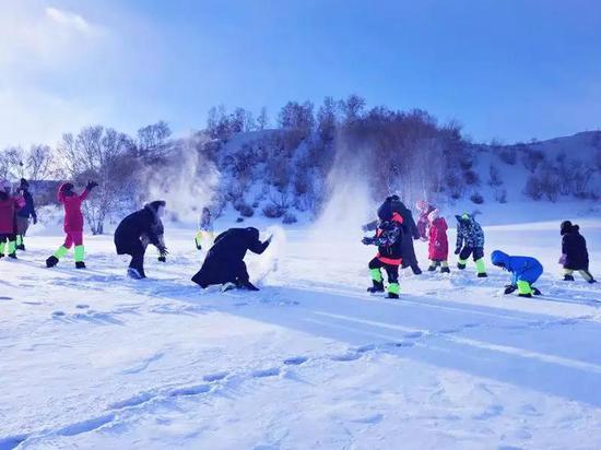"""冬天打雪仗图片_比北海道""""亲民"""" 这才是不得不去的玩雪胜地 白雪 林海雪原 雪 ..."""