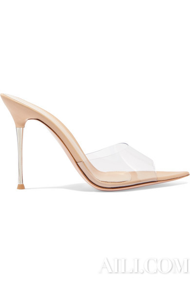 GIANVITO ROSSI Lyn 105 PVC 穆勒鞋