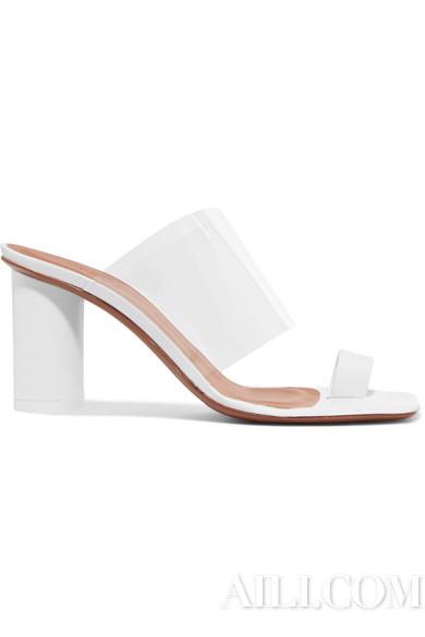 NEOUS Chost 皮革 PVC 凉鞋