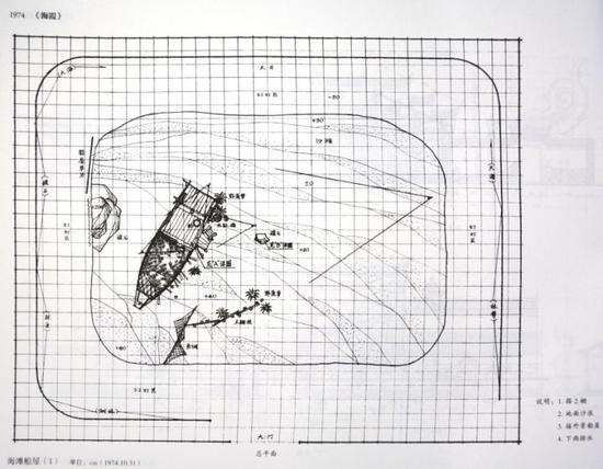 ▸ 早年施工用格子图:不标数据、尺寸混乱