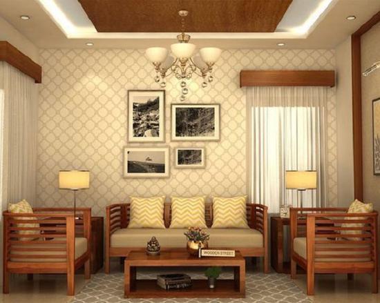 木质沙发 图源自87designs.net