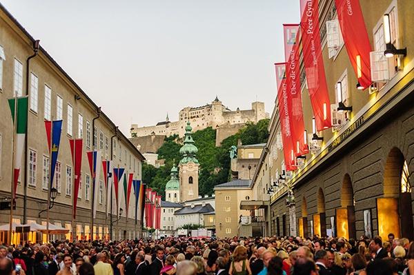 萨尔茨堡艺术节。资料图 来源©Tourismus Salzburg