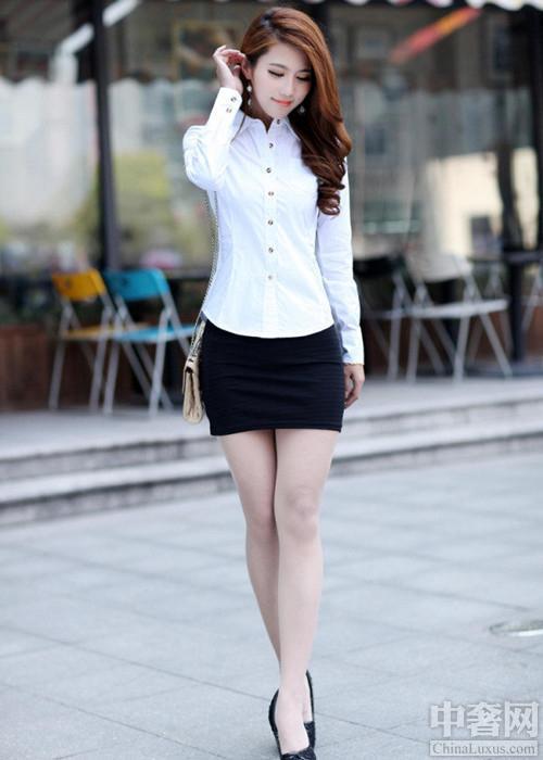 裙_想要秀腰秀腿耍性感短裙就选包臀裙|包臀裙|针织衫|雪纺衫_新浪