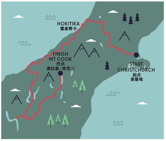 路线图选自Lonely Planet《世界经典自驾之旅》
