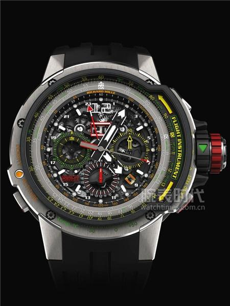 里查德米尔RM 039 Tourbillon Aviation E6-B Flyback Chronograph腕表:8280000元